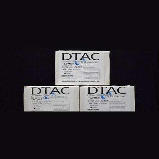 DTAC Bullets 6mm 115gr 500ct
