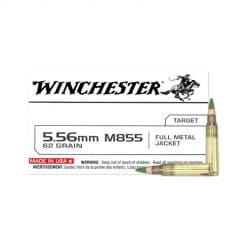 Winchester 5.56 M855 20 Count